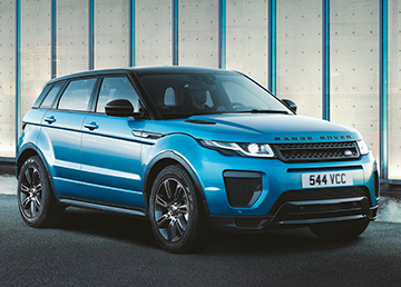 news land rover celebrates evoque landmark with special. Black Bedroom Furniture Sets. Home Design Ideas
