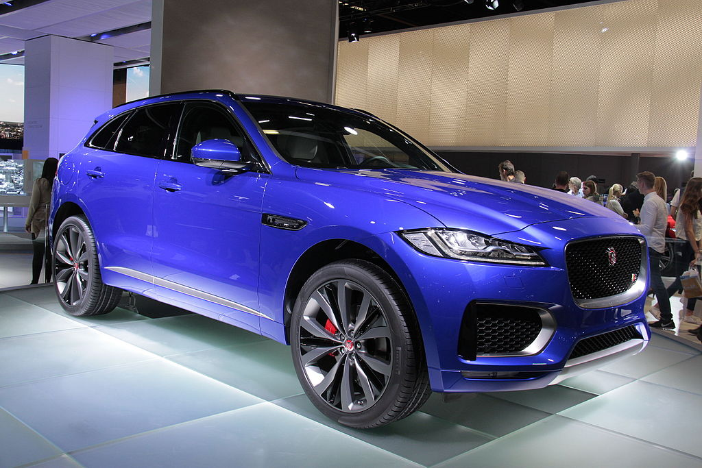 first drive the new jaguar f pace xlcr vehicle. Black Bedroom Furniture Sets. Home Design Ideas