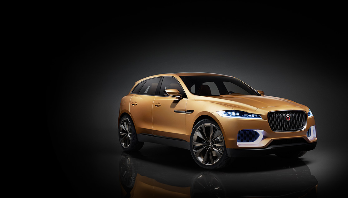 news the all new f pace from jaguar xlcr vehicle. Black Bedroom Furniture Sets. Home Design Ideas